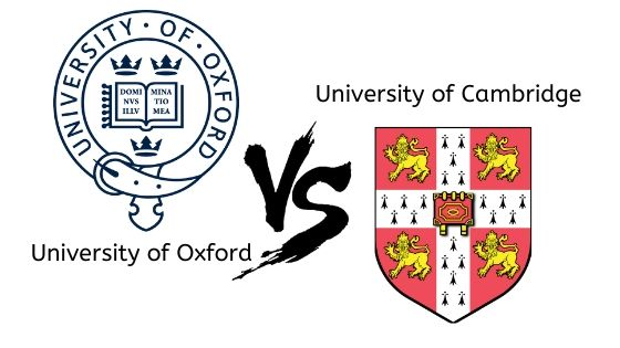 OXFORD vs CAMBRIDGE
